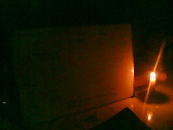 Belajar di tengah kegelapan..
