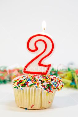 """Happy """"2nd"""" Birthday !"""