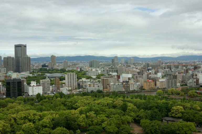 Osaka Castle - Observation Deck