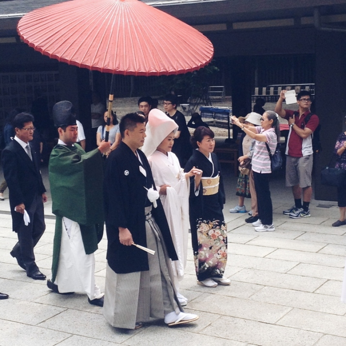 Japanese Traditional Wedding at Meiji Shrine