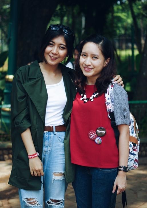 Foto dengan blogger keren Claradevi a.k.a Lucedale :)