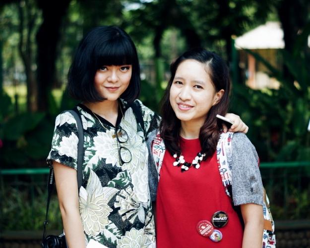 Foto dengan blogger kece Sonia Eryka