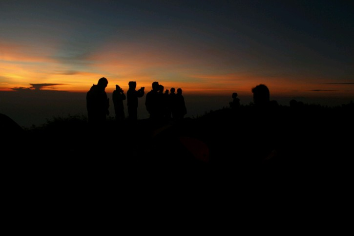 Sunrise at Prau